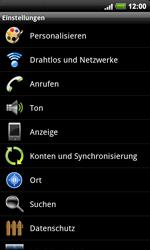HTC Desire HD - MMS - Manuelle Konfiguration - 4 / 18