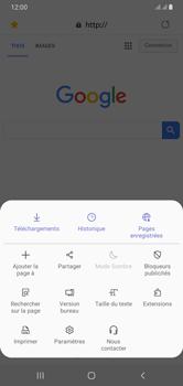 Samsung Galaxy A10 - Internet et connexion - Naviguer sur internet - Étape 20