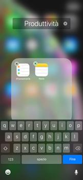 Apple iPhone XS Max - Operazioni iniziali - Personalizzazione della schermata iniziale - Fase 7