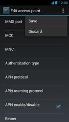 Acer Liquid Z5 - Internet - Manual configuration - Step 19