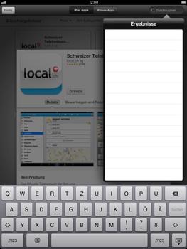 Apple iPad Retina - Apps - Installieren von Apps - Schritt 11