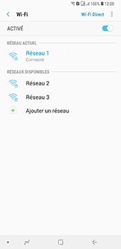 Samsung Galaxy A7 2018 - Internet et connexion - Accéder au réseau Wi-Fi - Étape 9