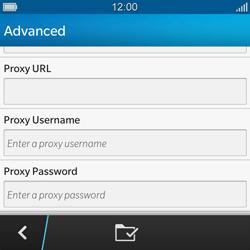 BlackBerry Q10 - MMS - Manual configuration - Step 12