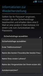 Alcatel One Touch Idol - Apps - Einrichten des App Stores - Schritt 13