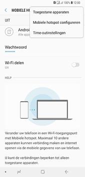 Samsung galaxy-a6-plus-sm-a605fn-ds - WiFi - Mobiele hotspot instellen - Stap 8