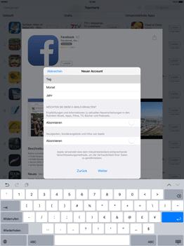 Apple iPad Pro 12.9 inch - Apps - Konto anlegen und einrichten - 26 / 35
