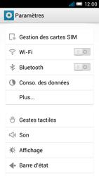 Alcatel One Touch Idol Mini - Internet et roaming de données - Désactivation du roaming de données - Étape 4