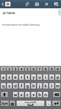 Samsung Galaxy Note 3 - E-mails - Envoyer un e-mail - Étape 10
