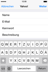 Apple iPhone 4 S - E-Mail - Konto einrichten (yahoo) - 1 / 1