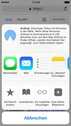 Apple iPhone 5s iOS 10 - Internet und Datenroaming - Verwenden des Internets - Schritt 6