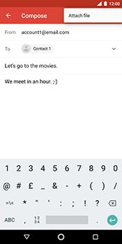 Nokia 7 Plus - E-mail - Sending emails - Step 10