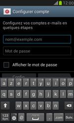 Samsung Galaxy S III Mini - E-mail - 032b. Email wizard - Yahoo - Étape 5