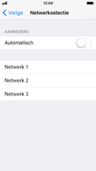 Apple iPhone SE - iOS 11 - Netwerk - Handmatig een netwerk selecteren - Stap 6
