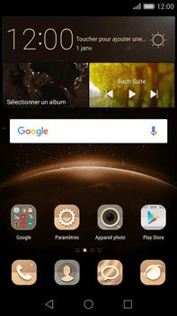 Huawei G8 - MMS - configuration manuelle - Étape 1