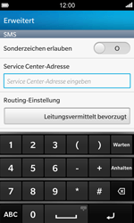 BlackBerry Z10 - SMS - Manuelle Konfiguration - 8 / 10