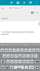 Samsung G900F Galaxy S5 - E-Mail - E-Mail versenden - Schritt 8