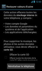 ZTE Blade III - Téléphone mobile - Réinitialisation de la configuration d