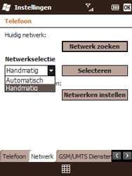HTC T3333 Touch II - netwerk en bereik - gebruik in binnen- en buitenland - stap 7