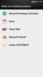 HTC Desire 601 - E-Mail - Konto einrichten - Schritt 5