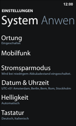 Nokia Lumia 800 / Lumia 900 - Internet und Datenroaming - Manuelle Konfiguration - Schritt 6