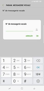 Samsung Galaxy S8 Plus - Messagerie vocale - configuration manuelle - Étape 9