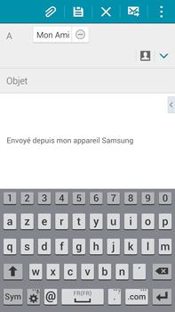 Samsung N910F Galaxy Note 4 - E-mail - envoyer un e-mail - Étape 7