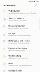 Samsung Galaxy S6 Edge - Android Nougat - Internet und Datenroaming - Deaktivieren von Datenroaming - Schritt 4