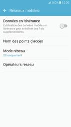 Samsung G930 Galaxy S7 - Réseau - Changer mode réseau - Étape 7