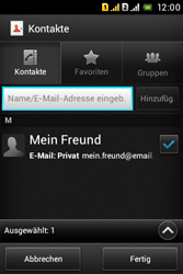 Sony Xperia Tipo Dual - E-Mail - E-Mail versenden - 7 / 18