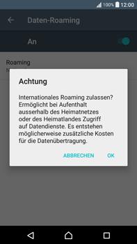 Sony Xperia XA Ultra - Ausland - Im Ausland surfen – Datenroaming - 11 / 14
