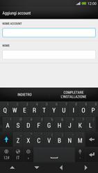 HTC One Max - E-mail - configurazione manuale - Fase 17