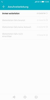 Huawei Honor 9 Lite - Anrufe - Rufumleitungen setzen und löschen - 8 / 9