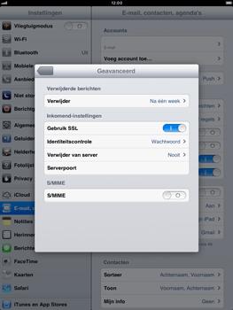 Apple iPad mini - E-mail - handmatig instellen - Stap 20