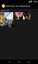 Sony D2005 Xperia E1 - MMS - afbeeldingen verzenden - Stap 15