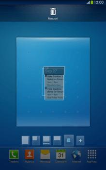 Samsung Galaxy Tab 3 8-0 LTE - Operazioni iniziali - Installazione di widget e applicazioni nella schermata iniziale - Fase 8