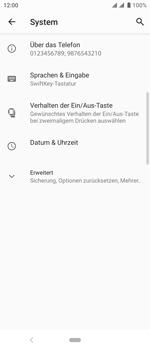 Sony Xperia 10 - Fehlerbehebung - Handy zurücksetzen - Schritt 7
