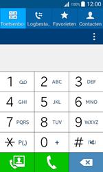 Samsung J100H Galaxy J1 - Voicemail - handmatig instellen - Stap 5