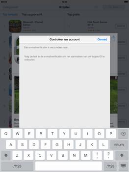 Apple iPad 4th generation (Retina) met iOS 7 - Applicaties - Account aanmaken - Stap 23