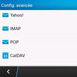 BlackBerry Q10 - E-mails - Ajouter ou modifier un compte e-mail - Étape 7