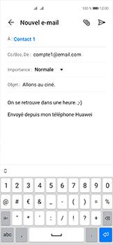 Huawei P40 - E-mails - Envoyer un e-mail - Étape 9
