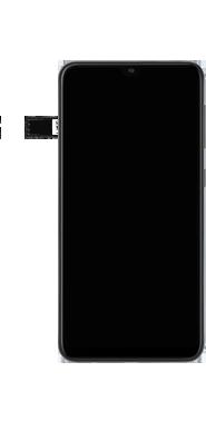Samsung Galaxy A10 - Toestel - simkaart plaatsen - Stap 7