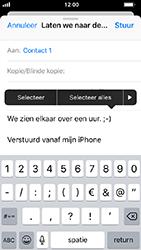 Apple iphone-5s-met-ios-12-model-a1457 - E-mail - Hoe te versturen - Stap 9