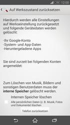 Sony Xperia Z3 Compact - Fehlerbehebung - Handy zurücksetzen - 8 / 11