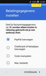 Samsung Galaxy Xcover 3 VE (G389) - Applicaties - Account aanmaken - Stap 21