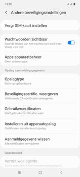 Samsung galaxy-s10-lite-dual-sim-sm-g770f - Beveiliging en ouderlijk toezicht - Hoe wijzig ik mijn SIM PIN-code - Stap 6