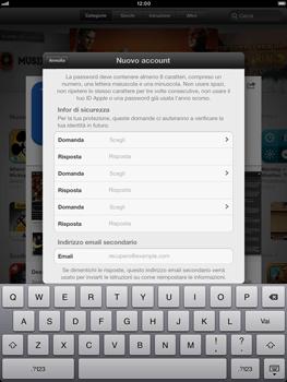 Apple iPad mini - Applicazioni - Configurazione del negozio applicazioni - Fase 13