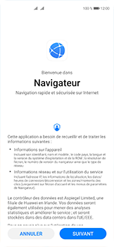 Huawei P40 - Internet et connexion - Naviguer sur internet - Étape 3