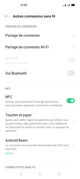 Oppo Reno 4Z - Internet et connexion - Partager votre connexion en Wi-Fi - Étape 5