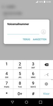LG Q6 - voicemail - handmatig instellen - stap 8