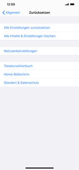 Apple iPhone XR - iOS 13 - Fehlerbehebung - Handy zurücksetzen - Schritt 7